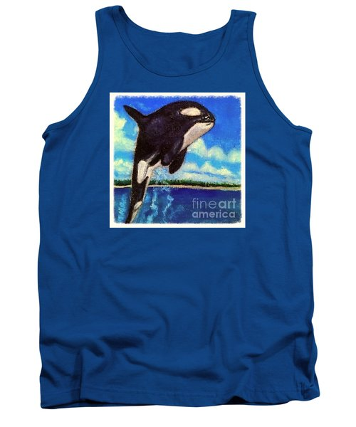 Standing Above The Rest Tank Top by Kimberlee Baxter