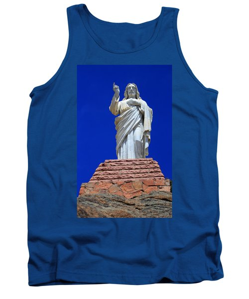Statue Of Jesus Tank Top