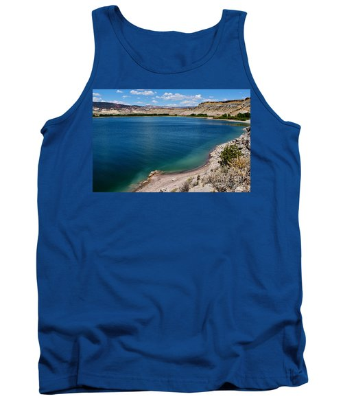 Tank Top featuring the photograph Steinacker Reservoir Utah by Janice Rae Pariza