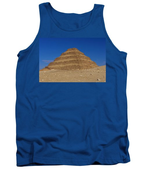 Step Pyramid Of King Djoser At Saqqara  Tank Top