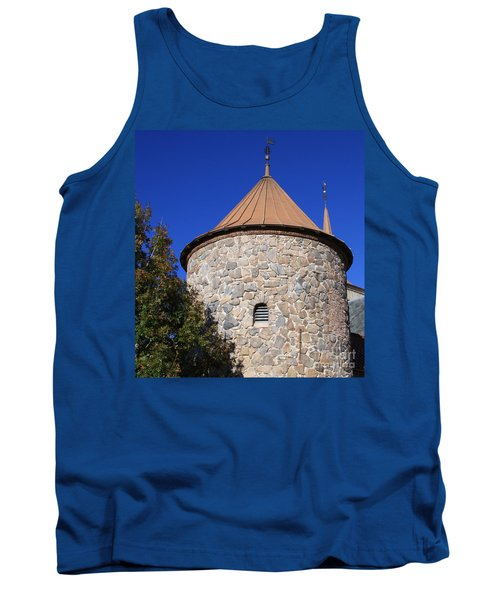 Stone Tower Tank Top by Chris Thomas