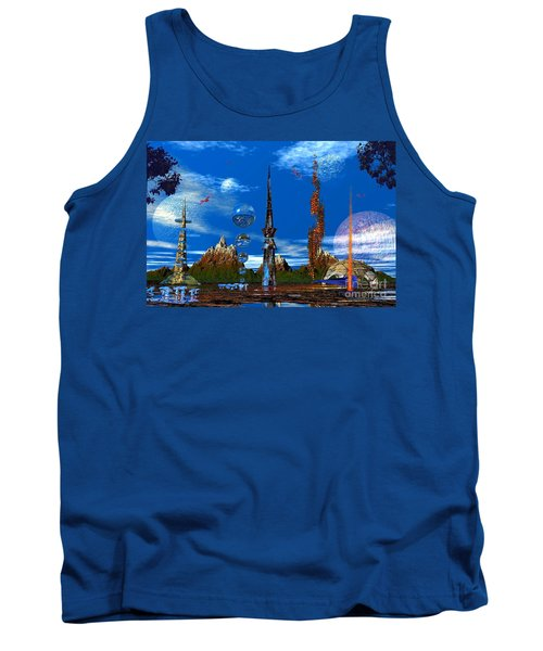 Tank Top featuring the photograph Strange Planet by Mark Blauhoefer