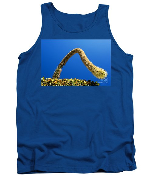 Tank Top featuring the photograph Strange Plant Under Blue Sky by Yew Kwang