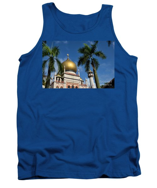 Sultan Masjid Mosque Singapore Tank Top
