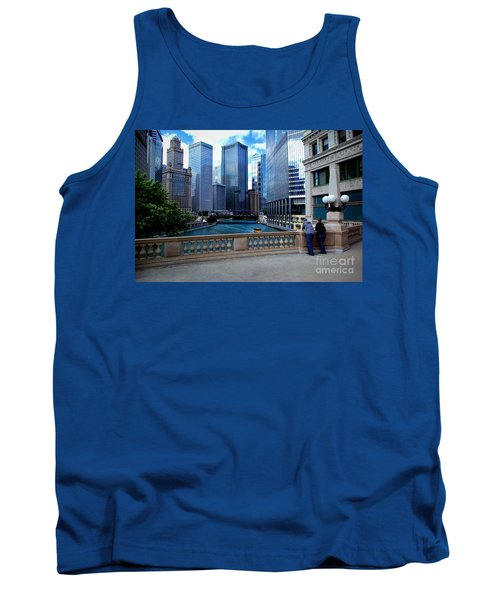 Summer Breeze On The Chicago River - Color Tank Top