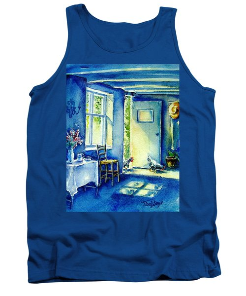 Summer Morning Visitors  Tank Top by Trudi Doyle