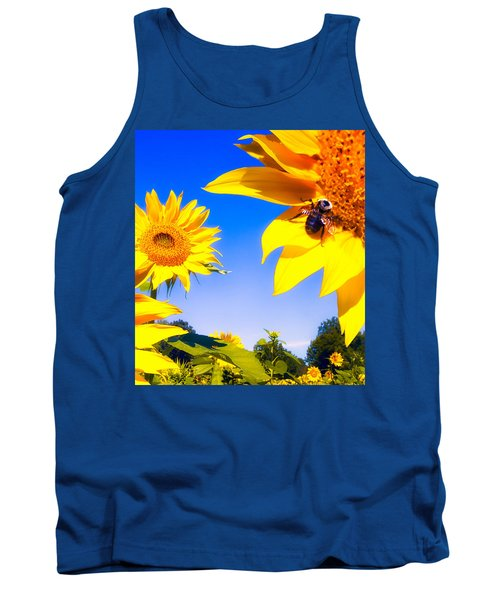 Summertime Sunflowers Tank Top