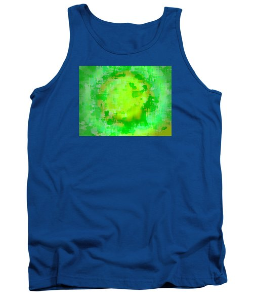 Original Abstract Art Painting Sunlight In The Trees  Tank Top by RjFxx at beautifullart com