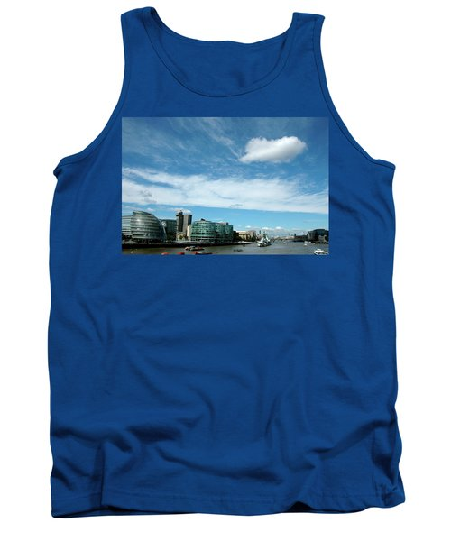 Tank Top featuring the photograph Sunny Day London by Jonah  Anderson