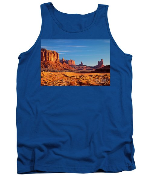 Sunrise Over Monument Valley Tank Top