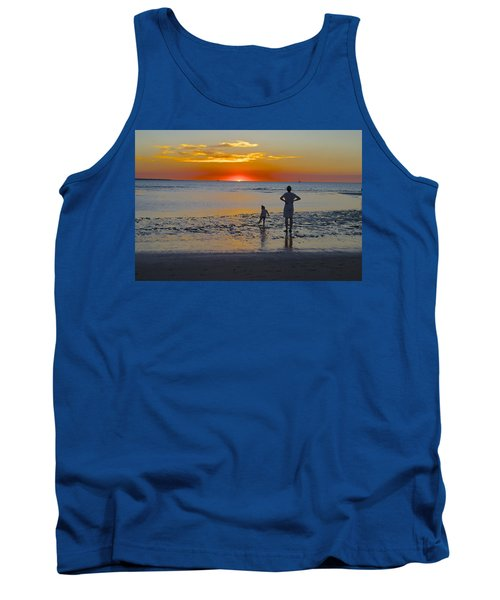 Sunset At Mindil Beach Tank Top by Venetia Featherstone-Witty