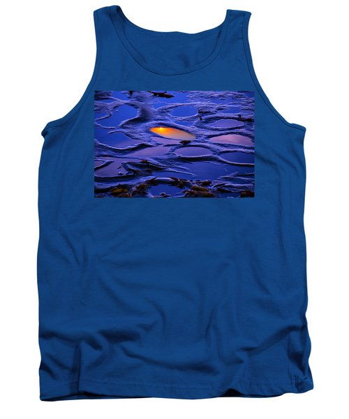 Sunset In Tide Pools Tank Top