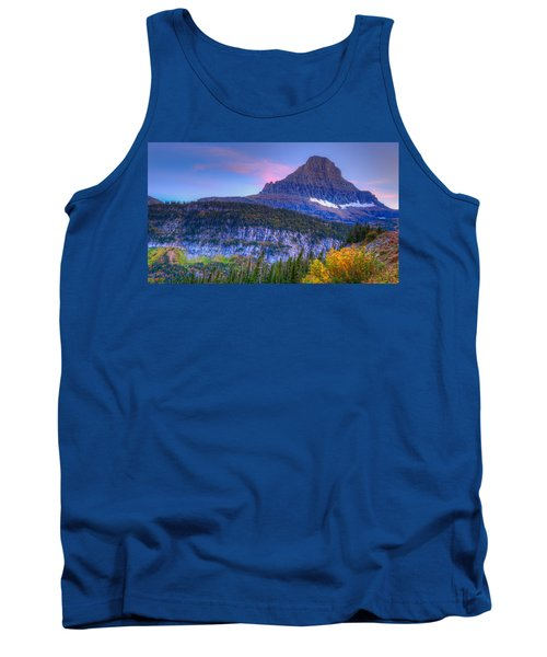 Sunset On Reynolds Mountain Tank Top