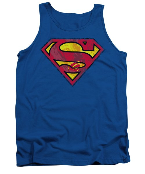 Superman - Action Shield Tank Top