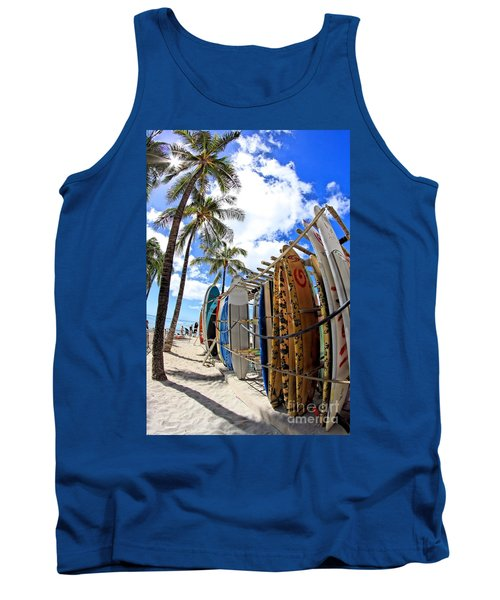 Surf And Sun Waikiki Tank Top