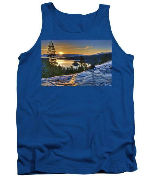 Tahoe Sunrise Tank Top