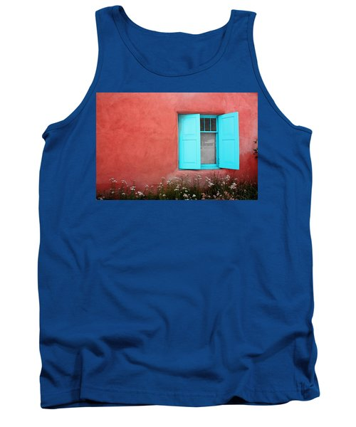 Tank Top featuring the photograph Taos Window Iv by Lanita Williams