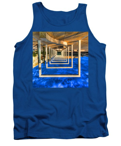 Tank Top featuring the photograph Tel Aviv Jump by Ron Shoshani