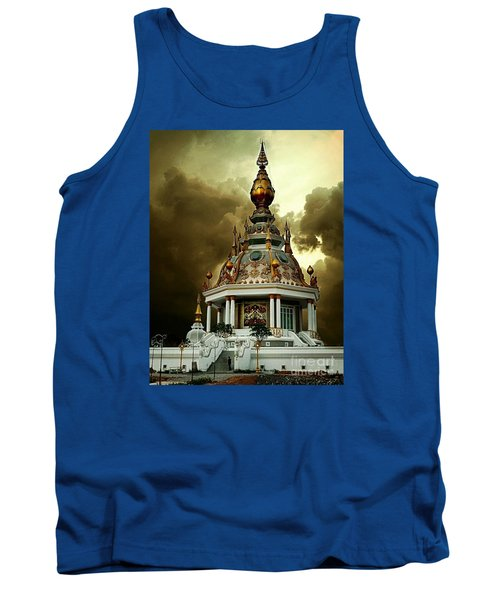 Temple Of Clouds  Tank Top by Ian Gledhill