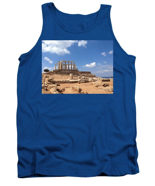 Temple Of Poseidon Tank Top