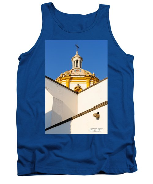 Tank Top featuring the photograph Templo De La Merced Guadalajara Mexico by David Perry Lawrence