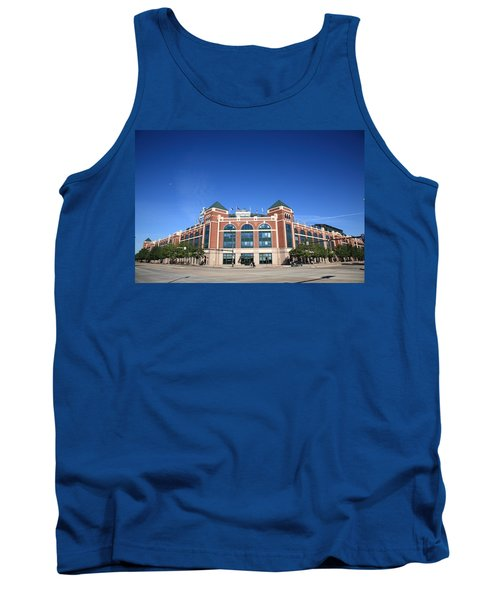 Texas Rangers Ballpark In Arlington Tank Top