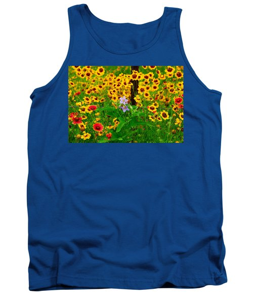 Texas Spring Delight Tank Top by Lynn Bauer