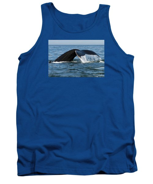The Big Blue In The Bigger Blues... Tank Top