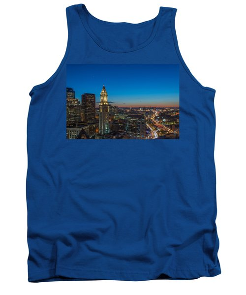 The Blue Begins Tank Top