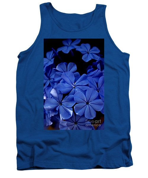 The Blues Tank Top by Clare Bevan