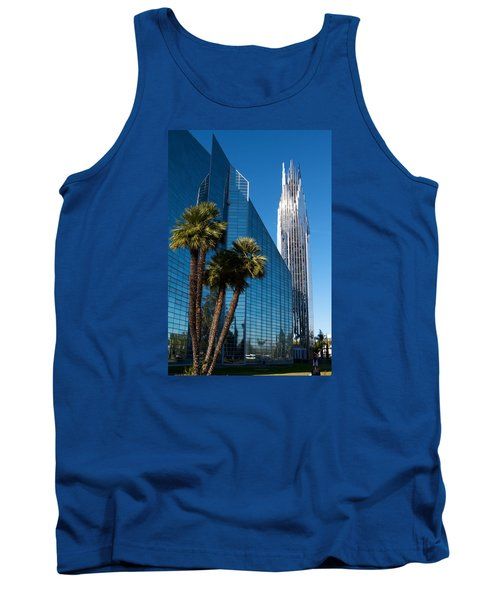 The Crystal Cathedral  Tank Top by Duncan Selby