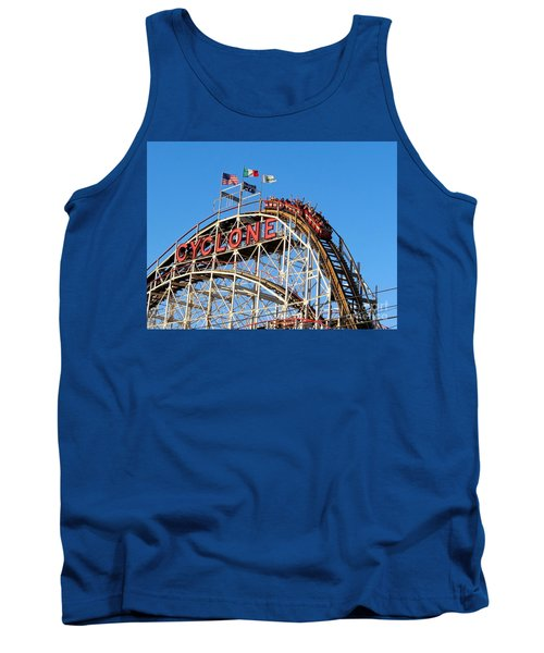 The Cyclone Tank Top by Ed Weidman