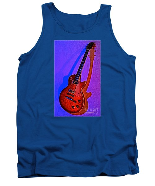 The Guitar After Party Tank Top by Gem S Visionary