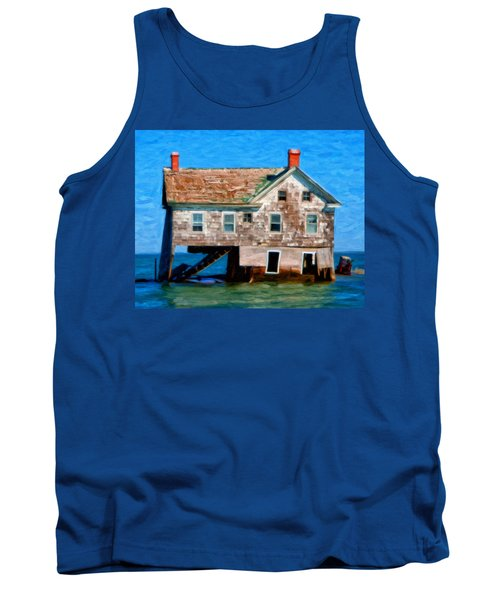 The Last House On Holland Island Tank Top by Michael Pickett