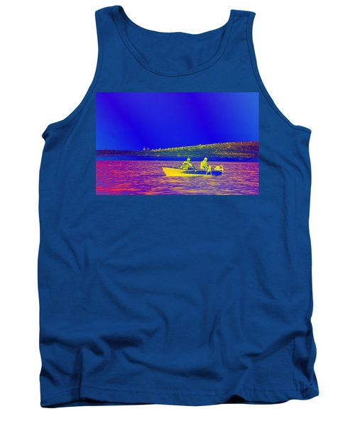 Tank Top featuring the photograph The Lazy Sunday Afternoon by David Pantuso
