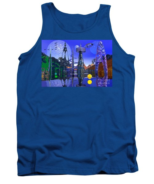 Tank Top featuring the photograph The Mechanical Wonder by Mark Blauhoefer