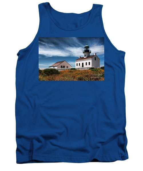 The Old Point Loma Lighthouse By Diana Sainz Tank Top