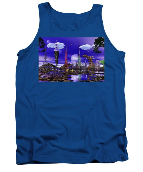Tank Top featuring the photograph The Palace Of Prax by Mark Blauhoefer