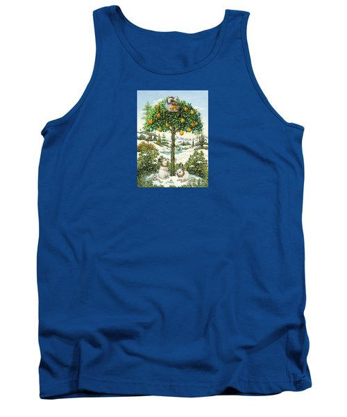 The Partridge In A Pear Tree Tank Top