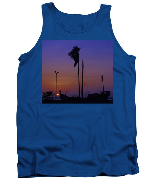 Tank Top featuring the photograph The Ship by Leticia Latocki
