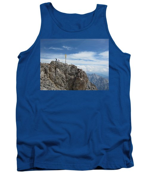 Tank Top featuring the photograph The Summit by Pema Hou