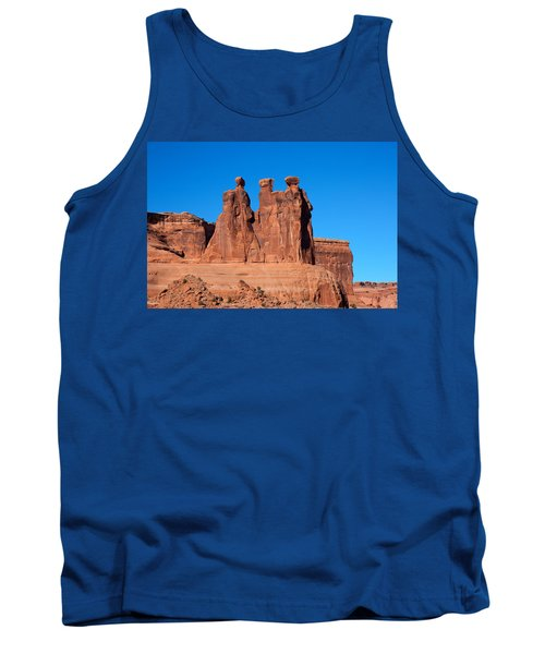 Tank Top featuring the photograph The Watchers by John M Bailey