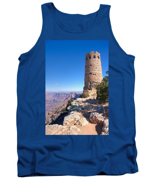 Tank Top featuring the photograph The Watchtower by John M Bailey