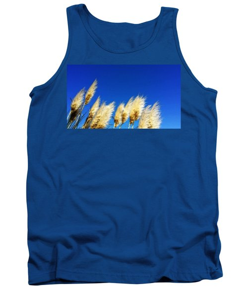 The Wind Gatherers - Sea Grass Art By Sharon Cummings Tank Top