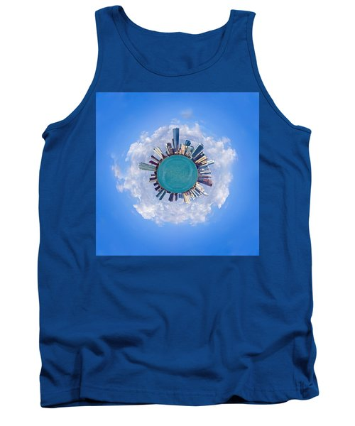 Tank Top featuring the photograph The World Of Miami by Carsten Reisinger