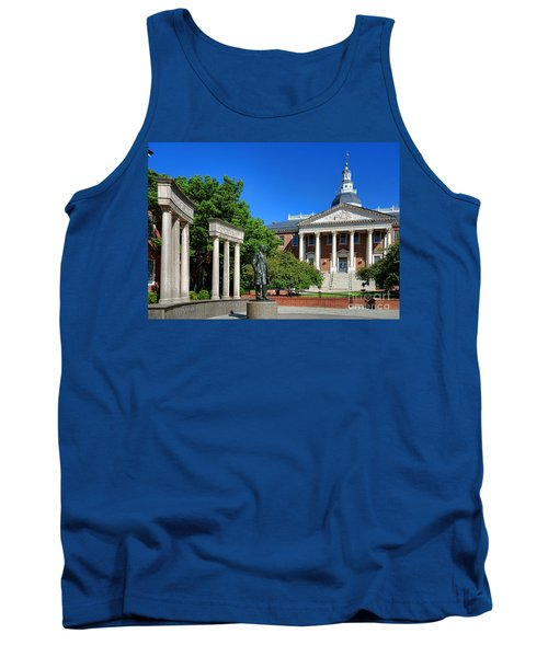 Thurgood Marshall Memorial And Maryland State House Tank Top