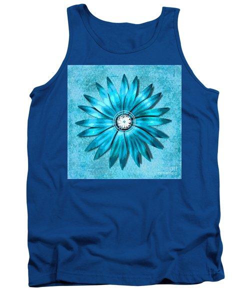 Tiffany Blue And Diamonds Too Tank Top