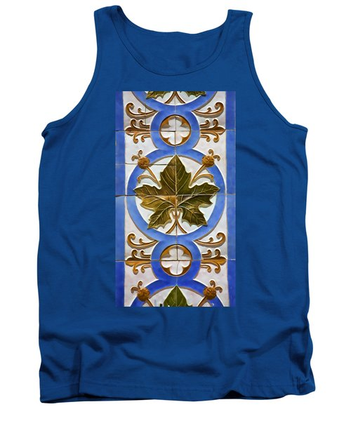 Tile Of Portugal Tank Top