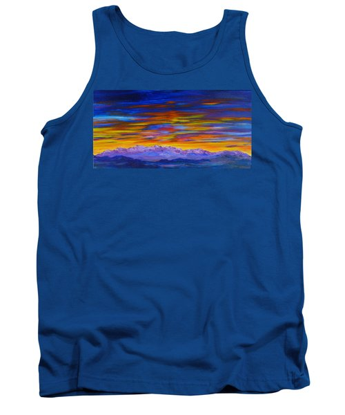 Tobacco Root Mountains Sunset Tank Top