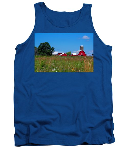 Touch Of Color Tank Top by Dave Files